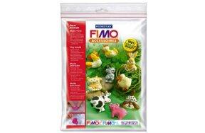 FIMO CLAY MOULD FARM ANIMALS